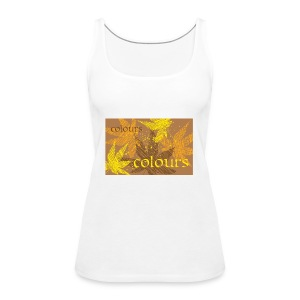 autumn theme - Tank top damski Premium