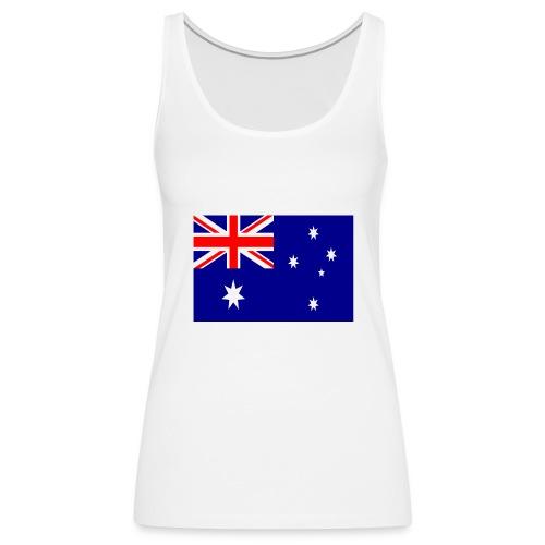 Australia flag - Women's Premium Tank Top