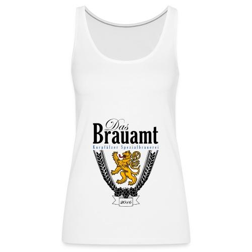 Brauamt Logo schwarz - Frauen Premium Tank Top