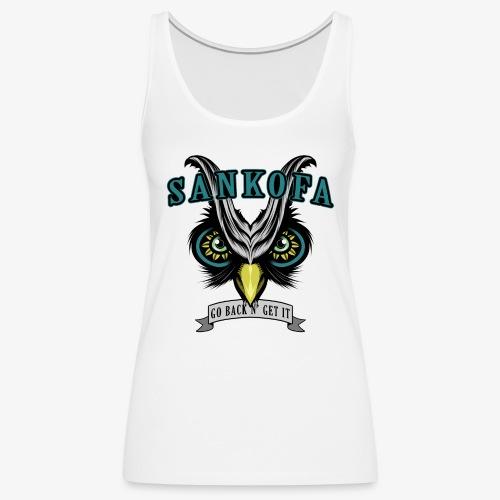 Sankofa Wisdom - Women's Premium Tank Top