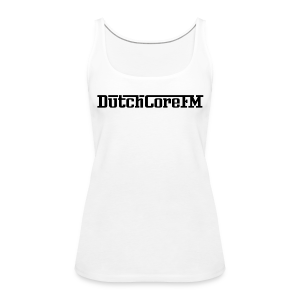 DutchCoreFM Logo Black - Women's Premium Tank Top