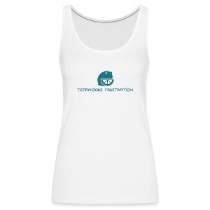 Coloured Tetracious Logo - Women's Premium Tank Top