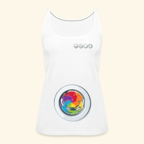 Rainbow Laundry-Unisex - Women's Premium Tank Top