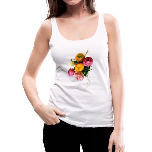 Bouquet de renoncules - Débardeur Premium Femme