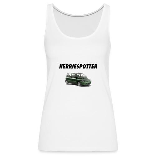 Herriespotter - Multipla - Vrouwen Premium tank top