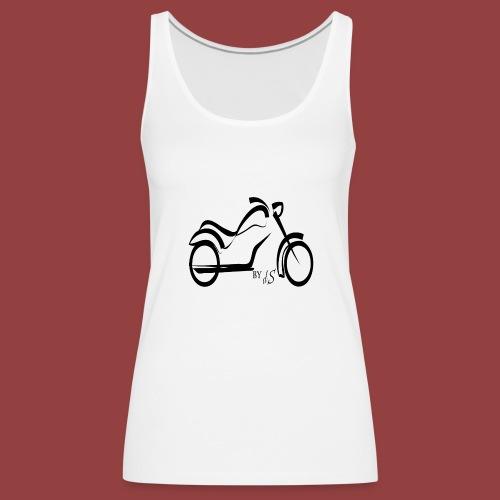 moto - Camiseta de tirantes premium mujer