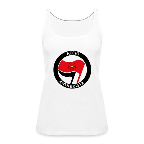 Acció Antifa - Camiseta de tirantes premium mujer