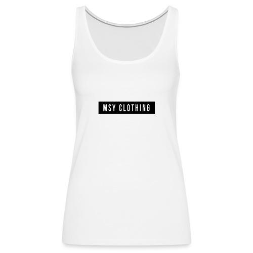 MSY Clothing Design - Frauen Premium Tank Top
