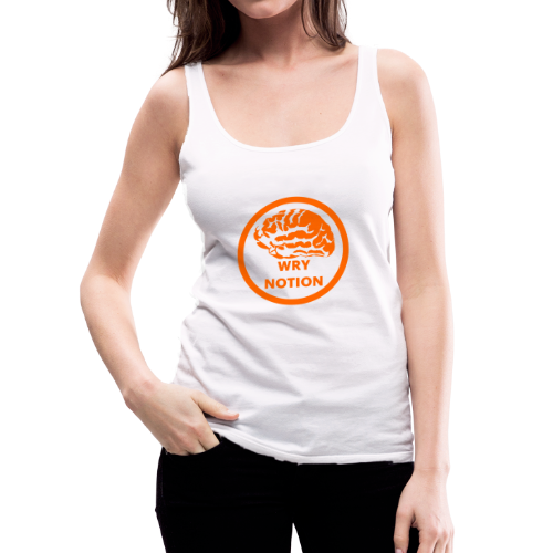 WRYNOTION Brain Logo - Frauen Premium Tank Top