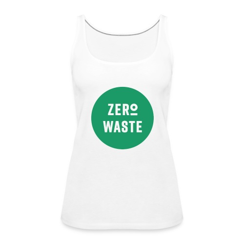 ZERO WASTE - Green - Women's Premium Tank Top