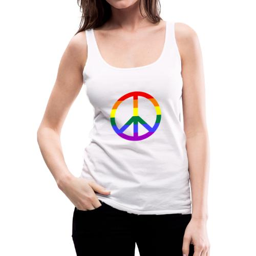 Peace - Frauen Premium Tank Top