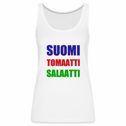 SUOMI SALAATTI tomater - Premium singlet for kvinner