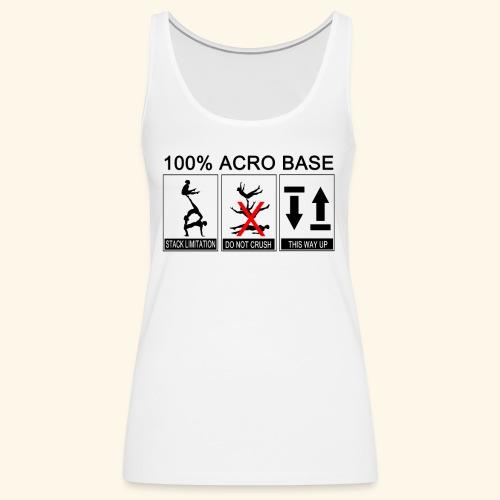 100% Acro Base - Women - Women's Premium Tank Top