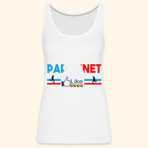 Papounet - Débardeur Premium Femme