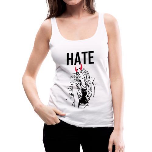 fashion hate devil sexy pin up 2reborn - Frauen Premium Tank Top