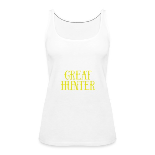 great hunter - Tank top damski Premium