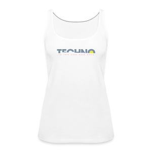 Techno is the one and only - Frauen Premium Tank Top