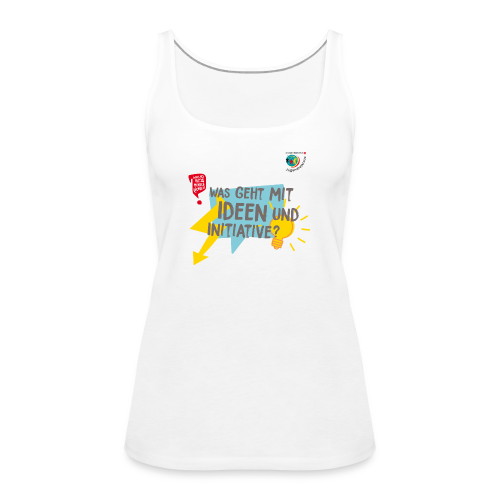 IDEEN & INITIATIVE - Frauen Premium Tank Top