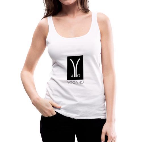 Y40 logotipo negro - Camiseta de tirantes premium mujer
