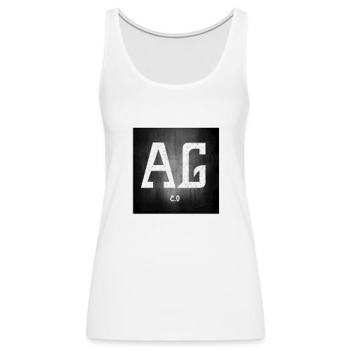 AGLOGO20-png - Vrouwen Premium tank top