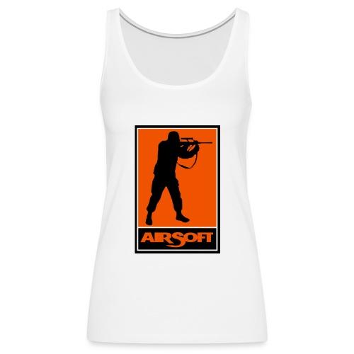 airsoft - Camiseta de tirantes premium mujer