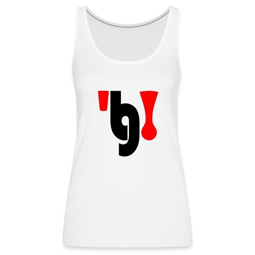 logo_klein - Vrouwen Premium tank top