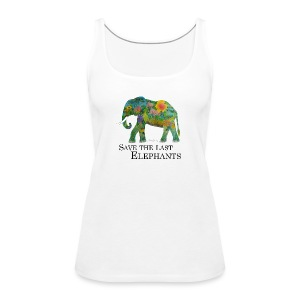 Save The Last Elephants - Frauen Premium Tank Top