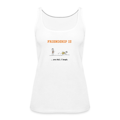 FRIENDSHIP - Frauen Premium Tank Top