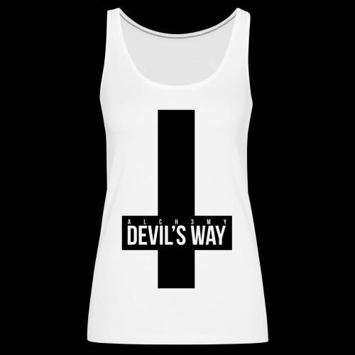 ALCH3MY Devil's Way T shirt - Débardeur Premium Femme
