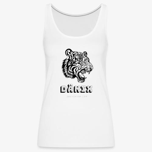 Tiger Black - Women's Premium Tank Top
