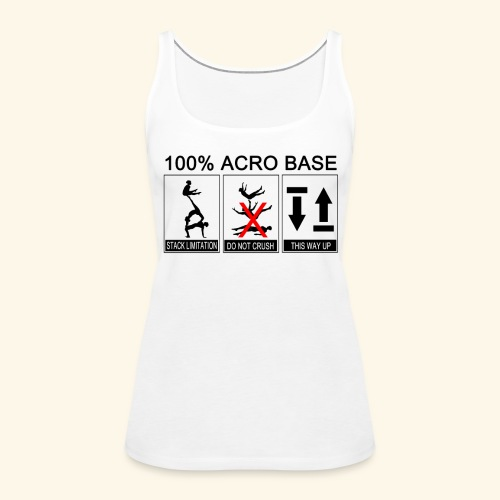 100% Acro Base - Women - Women's Premium Tank Top