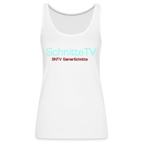 SchnitteTV SNTV GamerSchnitte - Frauen Premium Tank Top