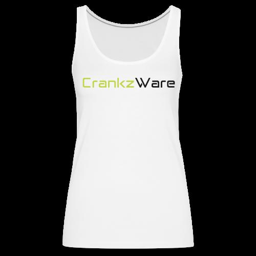 CrankzWare Tech-Font Only 4 Grills - Frauen Premium Tank Top