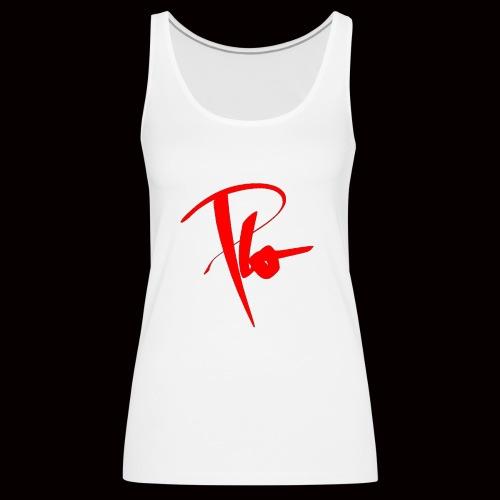Plo Rotes Logo - Frauen Premium Tank Top