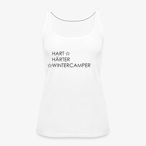 Wintercamper - Frauen Premium Tank Top