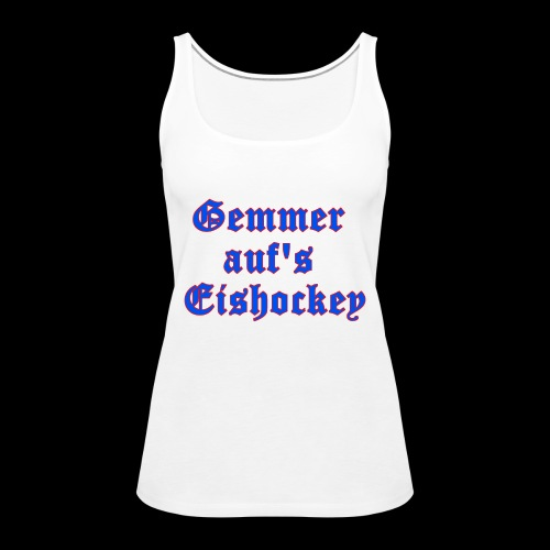 hockey - Frauen Premium Tank Top