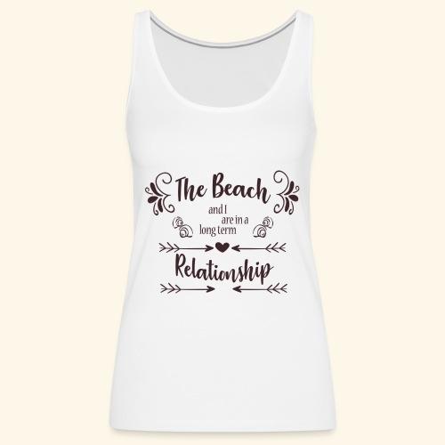 Beach Love - Vrouwen Premium tank top