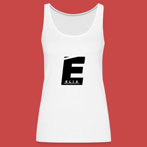 Elia Logo - Schwarz - Frauen Premium Tank Top