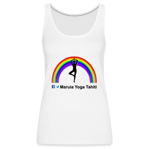 Logo de Maruia Yoga Tahiti - Débardeur Premium Femme