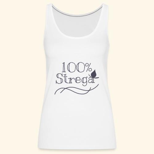 100% Strega - Canotta premium da donna