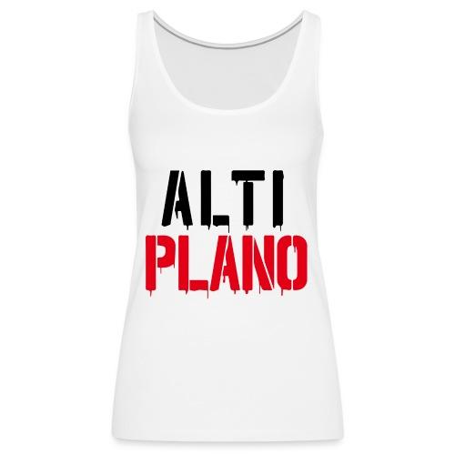 altiplano logo - Frauen Premium Tank Top