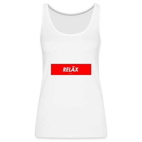 Reläx Logo - Frauen Premium Tank Top