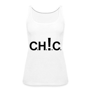chic new black - Tank top damski Premium
