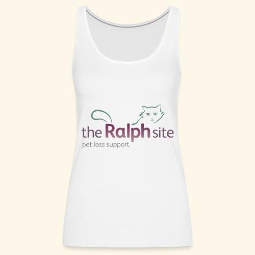 The Ralph Site, non-profit pet bereavement support - Women's Premium Tank Top