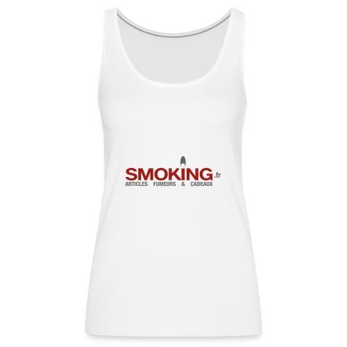Logo Smoking.fr - Débardeur Premium Femme