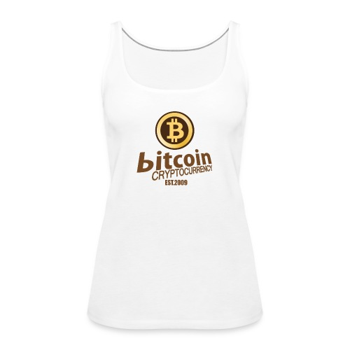 Bitcoin Cryptocurrency - Vrouwen Premium tank top