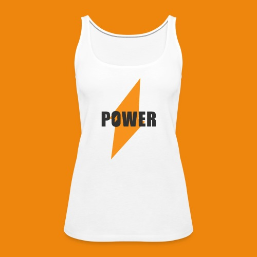 POWER - Frauen Premium Tank Top
