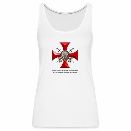 TEMPLARIOS. - Camiseta de tirantes premium mujer