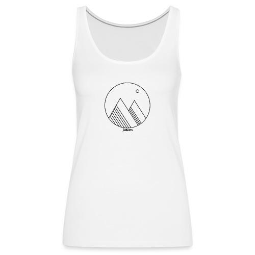 Mountains - Vrouwen Premium tank top