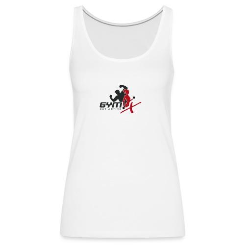 GYM-X.logo (für helle Kleidung) - Frauen Premium Tank Top